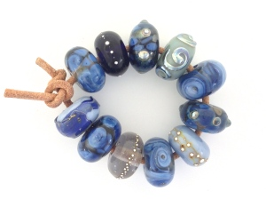 Blue Savannah Bead Set